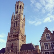 The Belfry. We climbed this, all 366 steps. Definitley in top 3 Belfries of all time. 8.5 out of 10.