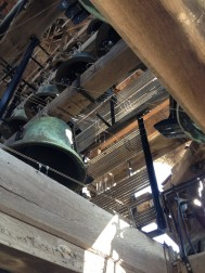 The carillon (mechanical chiming bell set up thingy) is an amzing piece of engineering to see. And impressive to hear.