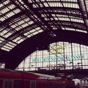 Cologne train station. Antwerp was the most impressive trainstation but the photos all blurry