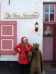 The Bear is the Symbol of Bruges. Local young people also say 'Bere' as a word for good, like wicked, or mint.
