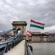 The Chain Bridge. One of 8 bridges across the Danube in Budapest. As bridges go, I reckon this is the best.