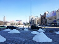 Apparently snow lands in piles in Poland