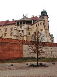 Wawel castle - Ugly on the outside. Not quite as ugly inside.