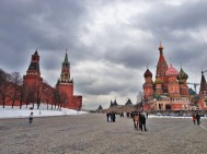 St Basil's and Kremlin Wall