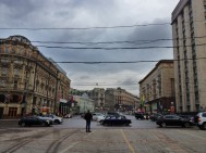 Mosow's imposing streets