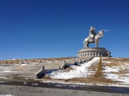 A very, very strange experience.. The Chinggis Khan eperience...