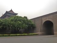 Xian city walls.
