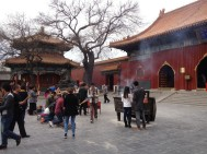 The Lama temple...